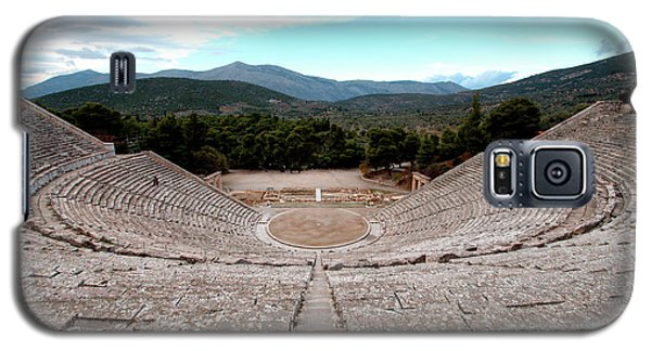Amphitheatre At Epidaurus 2 Galaxy S5 Case