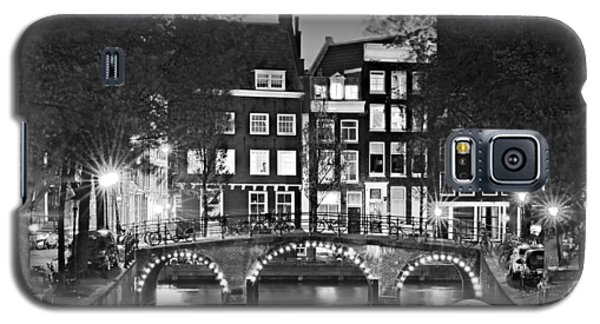 Amsterdam Bridge At Night / Amsterdam Galaxy S5 Case