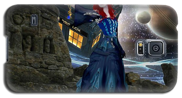 Amy And The Tardis Galaxy S5 Case