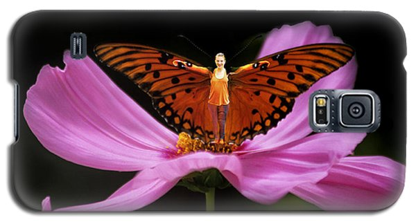 Amy The Butterfly Galaxy S5 Case