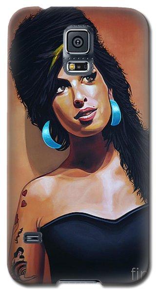 Amy Winehouse Galaxy S5 Case by Paul Meijering