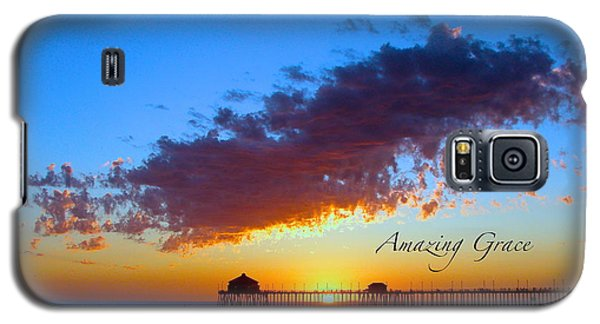 Galaxy S5 Case featuring the photograph Amzing Grace 7 by Margie Amberge