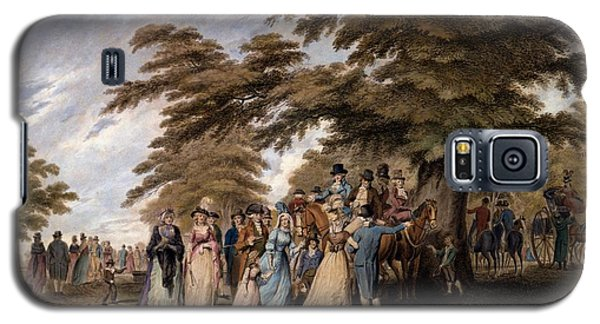 An Airing In Hyde Park, 1796 Galaxy S5 Case by Edward Days