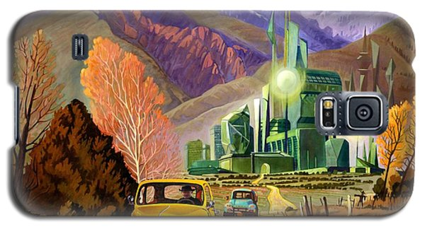 Trucks In Oz Galaxy S5 Case by Art James West