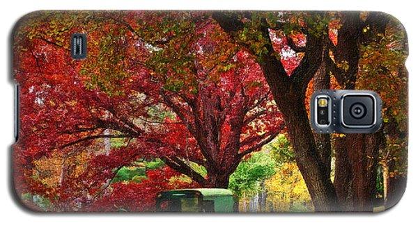 An Amish Autumn Ride Galaxy S5 Case