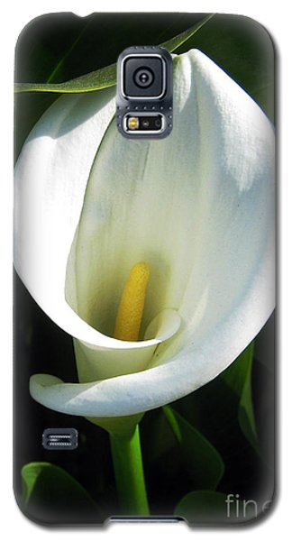 Galaxy S5 Case featuring the photograph My Angels Lily  by Janice Westerberg