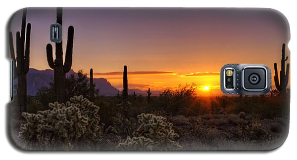 An Arizona Winter Sunrise Galaxy S5 Case