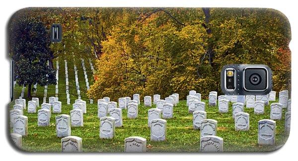 An Autumn Day In Arlington Galaxy S5 Case