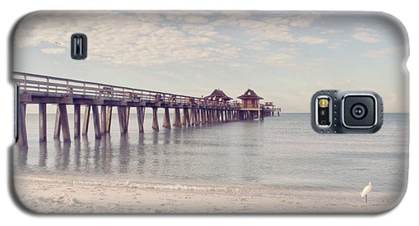 An Early Morning - Naples Pier Galaxy S5 Case