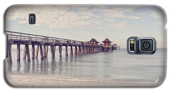 An Early Morning - Naples Pier Galaxy S5 Case
