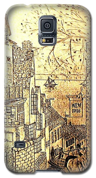 An English Fishing Village Galaxy S5 Case by Hazel Holland