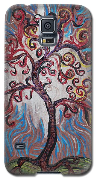 An Enlightened Tree Galaxy S5 Case