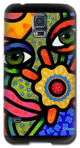An Eye On Spring Galaxy S5 Case