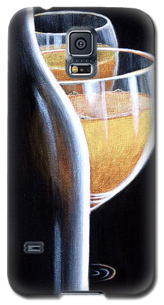 Galaxy S5 Case featuring the painting An Indecent Proposal by Sandi Whetzel