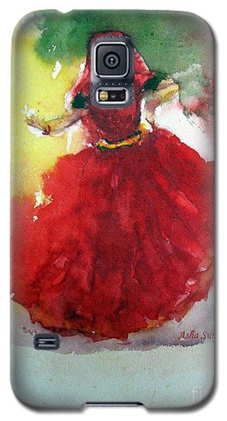 An Indian Dancer Galaxy S5 Case