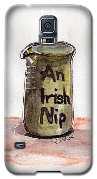 An Irish Nip Galaxy S5 Case by Julie Maas
