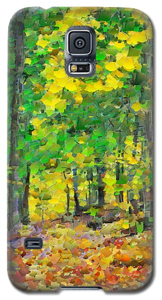 An October Walk In The Woods. 1 Galaxy S5 Case