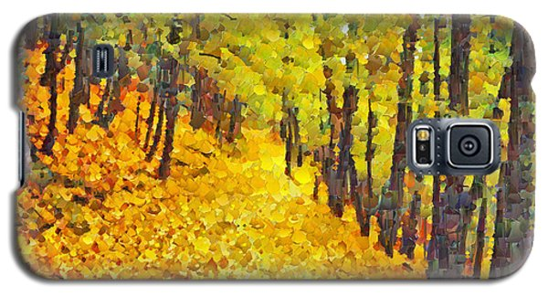 An October Walk In The Woods. 2 Galaxy S5 Case