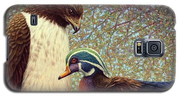Duck Galaxy S5 Case - An Odd Couple by James W Johnson