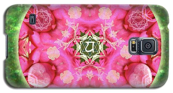 Anahata Rose Galaxy S5 Case