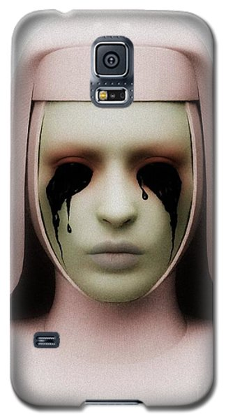 Galaxy S5 Case featuring the digital art Anathema by Sandra Bauser Digital Art