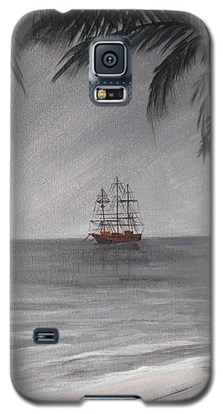 Anchored For The Night Galaxy S5 Case by Virginia Coyle