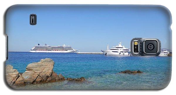 Anchored Ships Galaxy S5 Case by Pema Hou