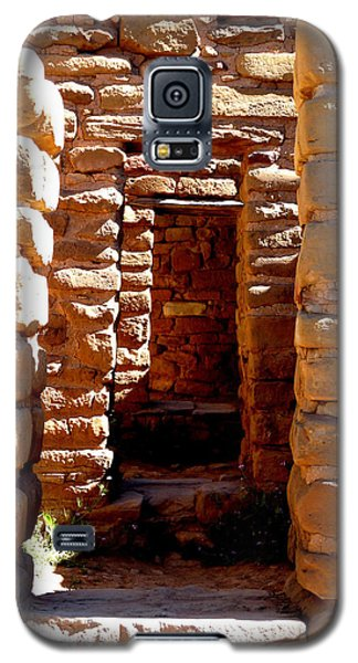 Galaxy S5 Case featuring the photograph Ancient Doorways by Alan Socolik