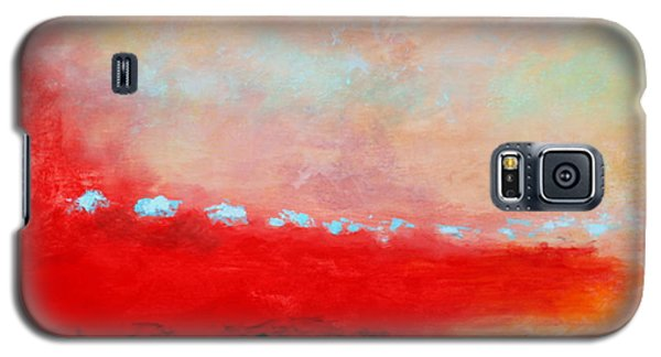 Galaxy S5 Case featuring the painting Ancient Dreams by M Diane Bonaparte