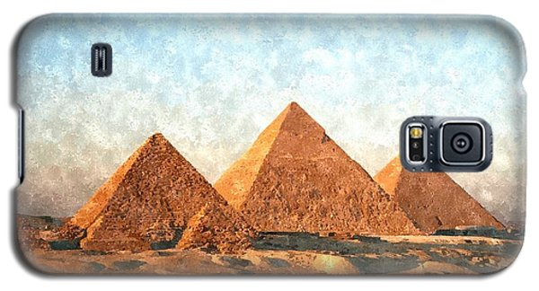 Ancient Egypt The Pyramids At Giza Galaxy S5 Case