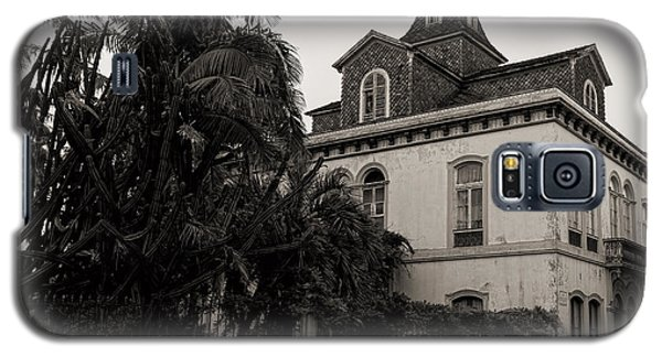 Ancient Hotel And Lush Trees  Galaxy S5 Case