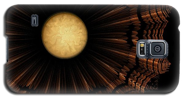 Ancient Nimbus World Galaxy S5 Case by Linda Whiteside