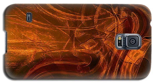 Galaxy S5 Case featuring the digital art Ancient by Richard Thomas