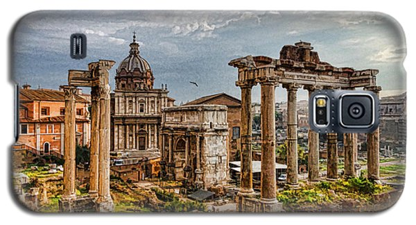 Ancient Roman Forum Ruins - Impressions Of Rome Galaxy S5 Case