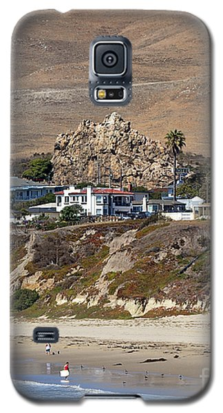 Ancient Sea Stack At Pismo Beach Galaxy S5 Case