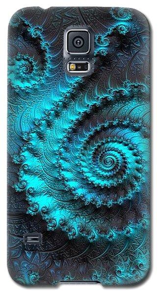 Ancient Verdigris -- Triptych 2 Of 3 Galaxy S5 Case by Susan Maxwell Schmidt