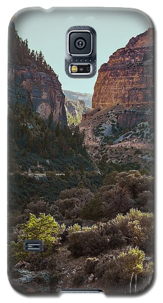 Ancient Walls In Wyoming Galaxy S5 Case
