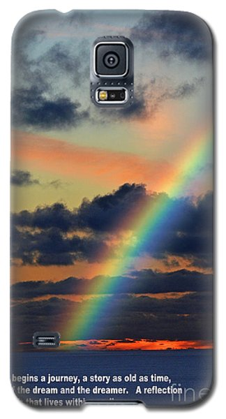 And Here Begins A Journey  Galaxy S5 Case by Jim Fitzpatrick
