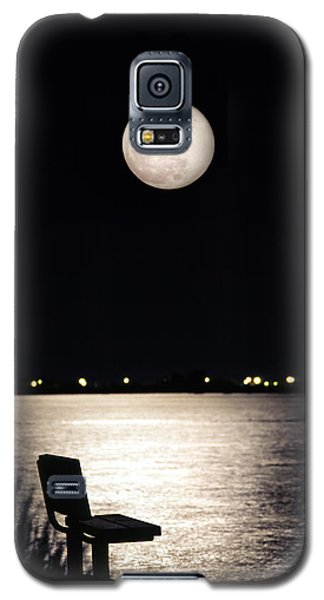 And No One Was There - To See The Full Moon Over The Bay Galaxy S5 Case