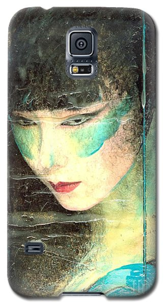 And She Waits Galaxy S5 Case