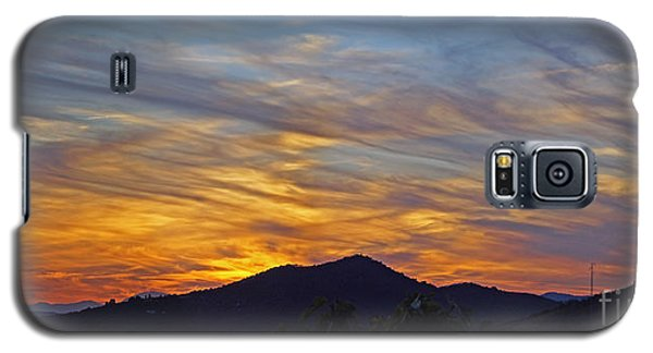 Andalucia Sunset Panorama Galaxy S5 Case