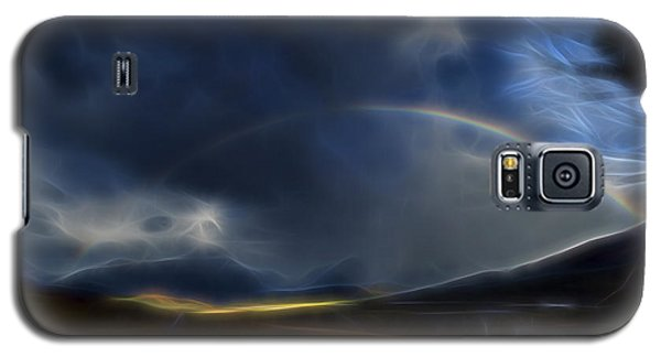 Galaxy S5 Case featuring the digital art Andean Rainbow by William Horden