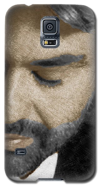 Andrea Bocelli And Vertical Galaxy S5 Case