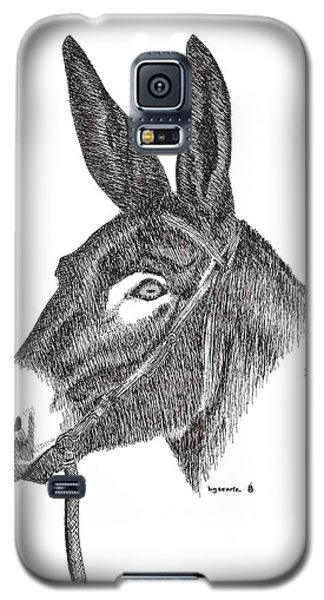 Galaxy S5 Case featuring the painting Andy by Bill Searle