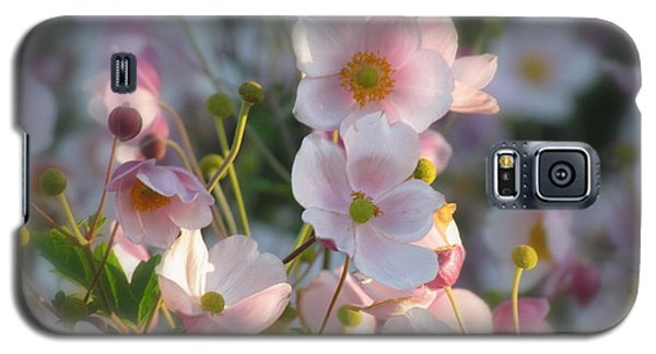 Anemones Soft Beauty Galaxy S5 Case by France Laliberte