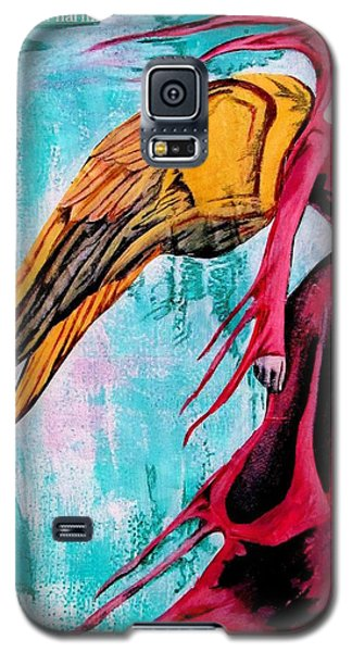 Angel 1 Navigating Ether Galaxy S5 Case by Maria Huntley