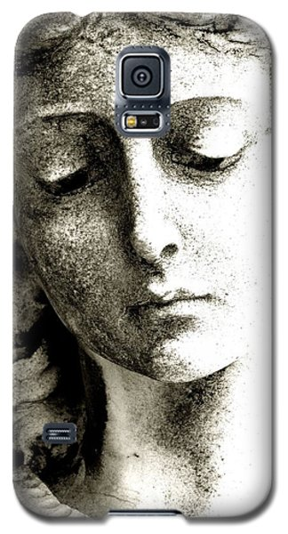 Angel 8 Face Of An Angel Galaxy S5 Case by Maria Huntley