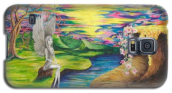 Angel Fairy Galaxy S5 Case by Yolanda Raker