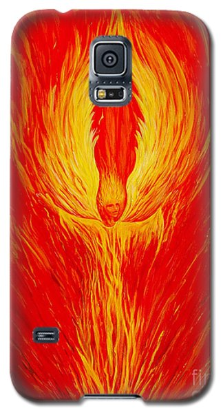 Angel Fire Galaxy S5 Case