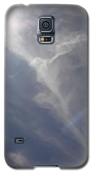 Galaxy S5 Case featuring the photograph Angel Holding Light by Deborah Moen